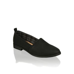 SEVEN EAST Klasická nazúvacia obuv čierna