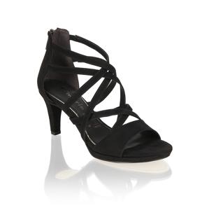 TAMARIS textil Klasické sandále čierna