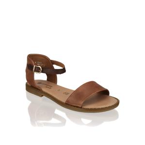 Remonte hladká koža Klasické sandále hnedá