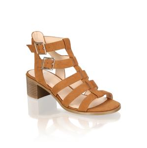 OMG! Klasické sandále béžová