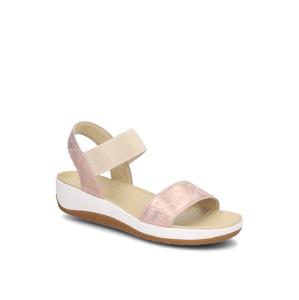 Ara kombinácia s kožou Sandále béžová