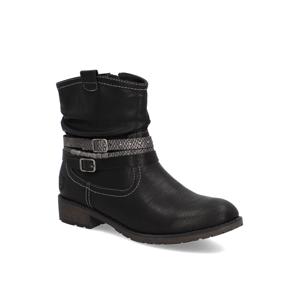 SEVEN EAST členková obuv čierna