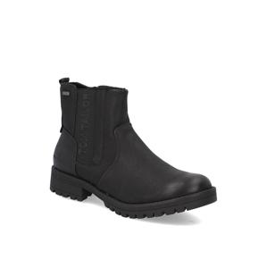 Tom Tailor chelsea boots čierna