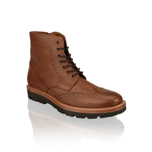 Rowland Brothers Boot Brogue hnedá