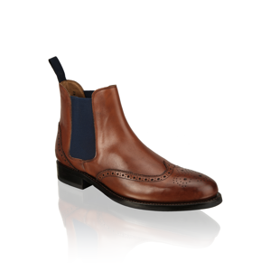 Rowland Brothers Chelsea Brogue hnedá