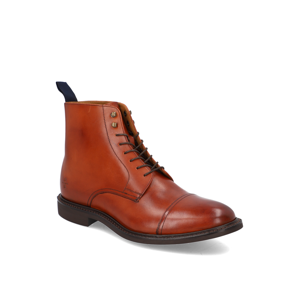 Rowland Brothers Boot Toe Cap hnedá