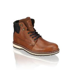 Frank Walker hladká koža členková obuv hnedá