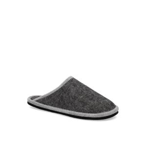 Natura textil domáca obuv šedá