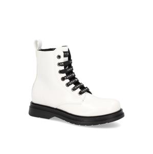 Tommy Hilfiger členková obuv biela