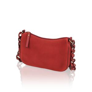Vigneron velúr malá taška červená