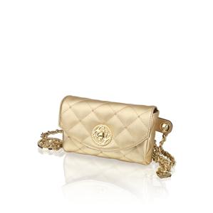 GUESS malá taška zlatá