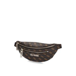 GUESS MANHATTAN Belt Bag hnedá