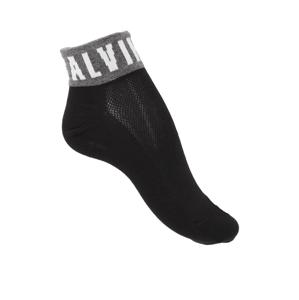 Calvin Klein členkové  ponožky čierna