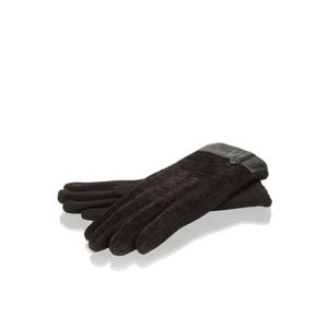 Lazzarini rukavice čierna