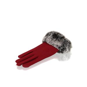 Lazzarini rukavice červená