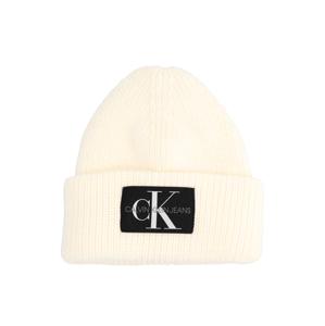 Calvin Klein BEANIE biela
