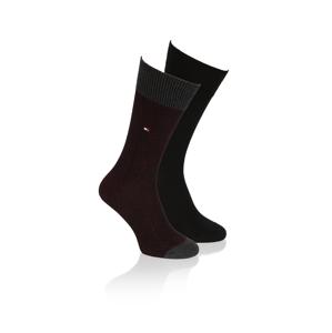 Tommy Hilfiger Socken 2P čierna