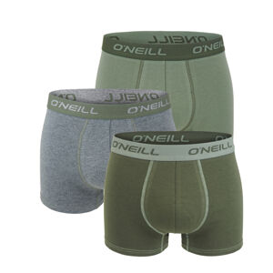 O'NEILL - 3PACK agave army green boxerky-XXL (103-108 cm)